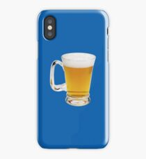 BEER (SIZE MATTERS) iPhone Case/Skin
