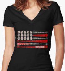 CARTERSVILLE H Women's Fitted V-Neck T-Shirt