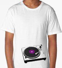 Vinyl Long T-Shirt