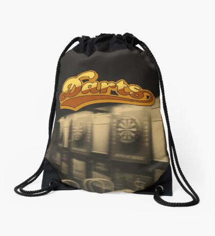 Darts Pub Drawstring Bag