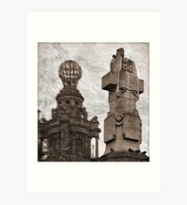 For King and Country II Art Print