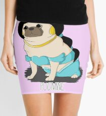 Pugmine! Mini Skirt