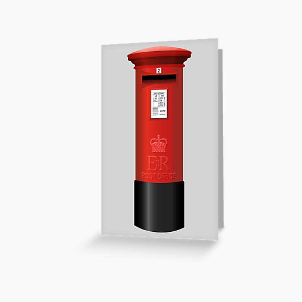 NDVH Pillar Box Greeting Card