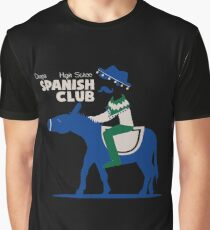 Chaparral High School Spanish Club Graphic T-Shirt