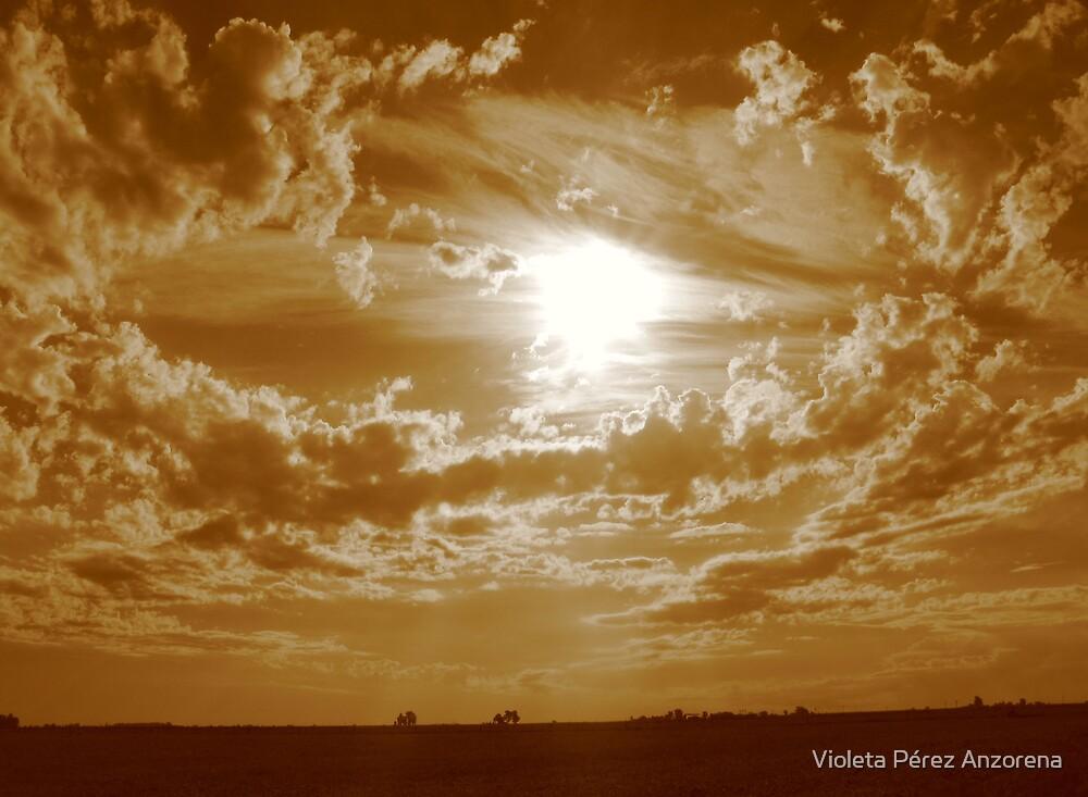 Rufino Sunset by Violeta Pérez Anzorena