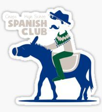 Chaparral High School Spanish Club Sticker
