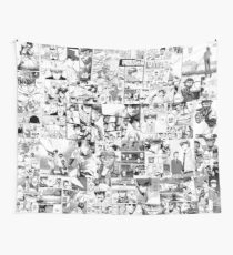 Diamond no Ace Manga Collage Wall Tapestry