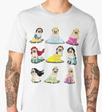 Pug Princesses Version 2 Men's Premium T-Shirt