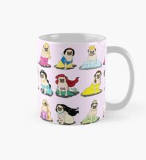 Taza Pug Princesses Version 2