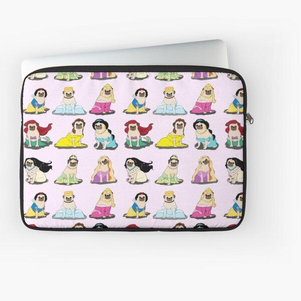 Pug Princesses Version 2 Laptop Sleeve