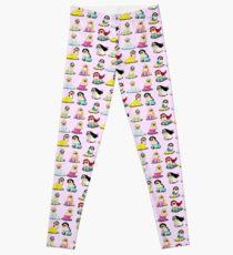 Pug Princesses Version 2 Leggings