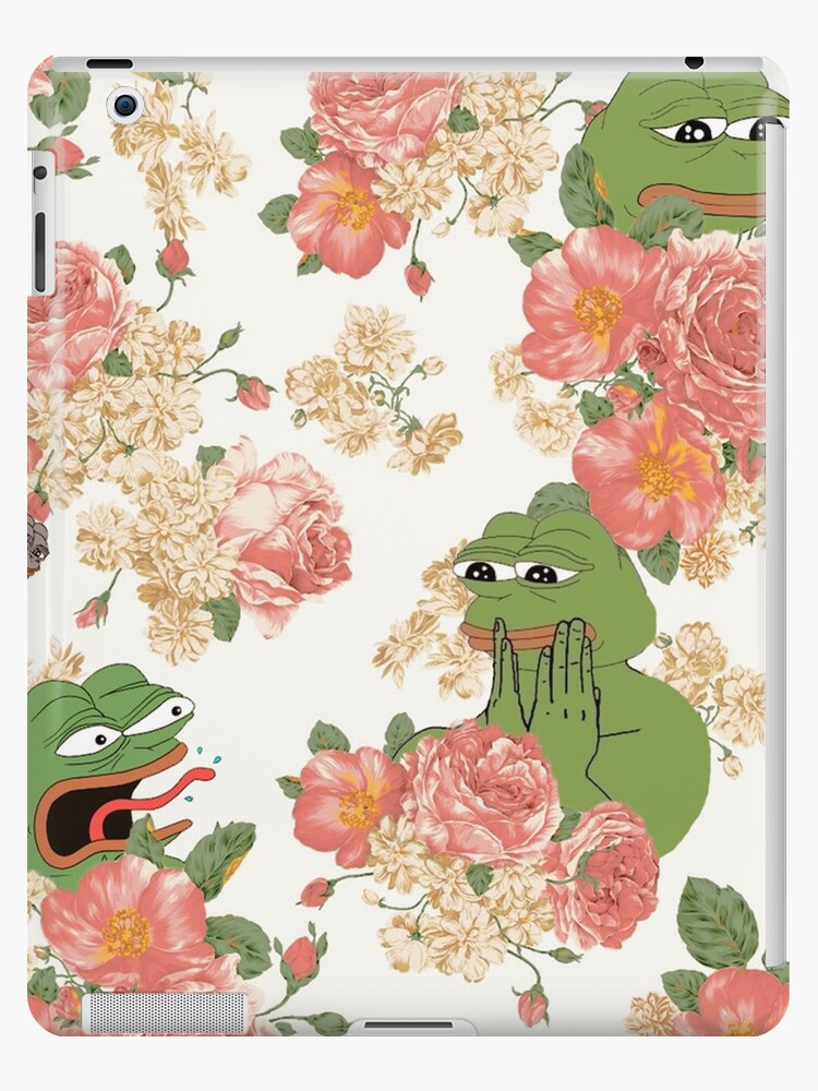 Pepe Floral Wallpaper By MousMuse