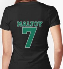 MALFOY 7 Women's Fitted V-Neck T-Shirt