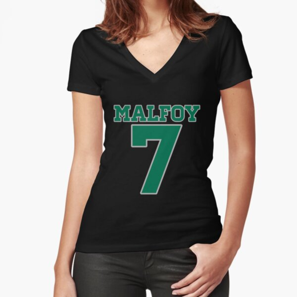 MALFOY 7 Fitted V-Neck T-Shirt