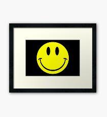 NDVH Smiley Framed Print