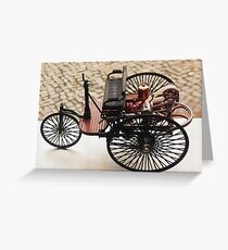 Mercedes-Benz Vintage Greeting Card