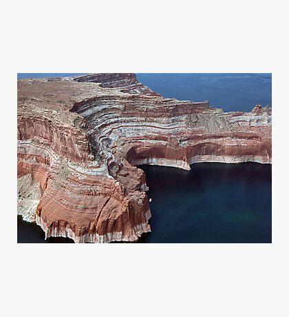 Geological Art Photographic Print