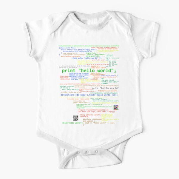 World Mashed Clothing Hello Personalized Name Baby Romper Im Ava