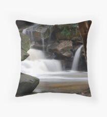 Waterfall from Somersby Falls 1 Throw Pillow