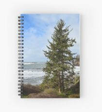 Trinidad State Beach, Trinidad, California Spiral Notebook
