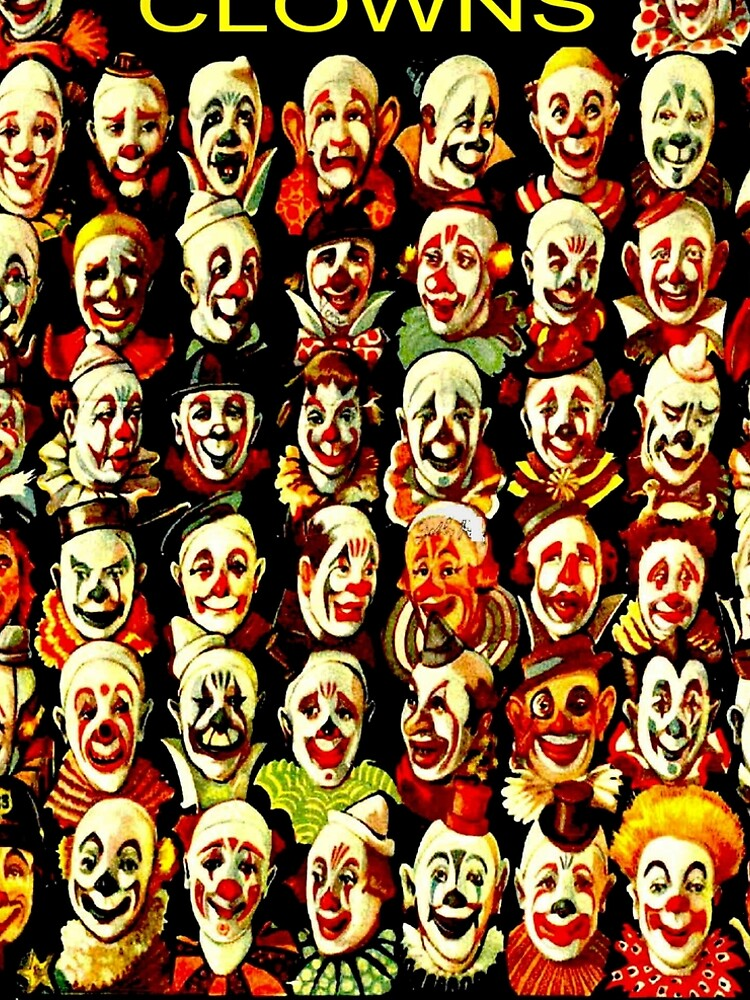 RINGLING BROS, BARNUM & BAILEY: Vintage Clown Print by posterbobs