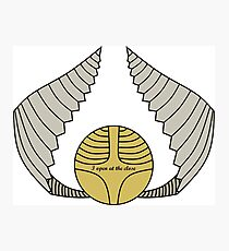 The Golden Snitch Photographic Print