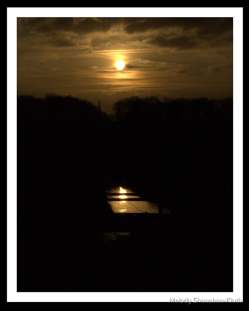Dark sunset by Melody Shanahan-Kluth