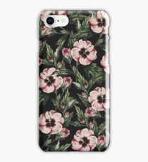 Retro Pink Floral II iPhone Case/Skin