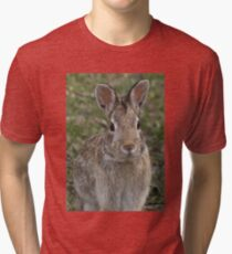 Not telling you where I hid your Easter eggs. Tri-blend T-Shirt
