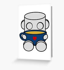 Tea & Story Time with the O'BOTs 1.0 Greeting Card