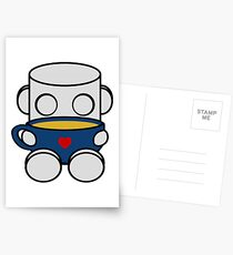 Tea & Story Time with the O'BOTs 1.0 Postcards
