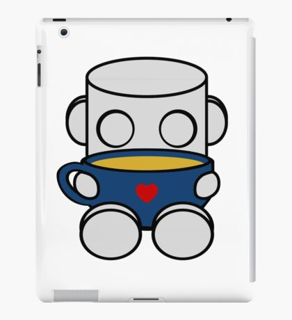 Tea & Story Time with the O'BOTs 1.0 iPad Case/Skin