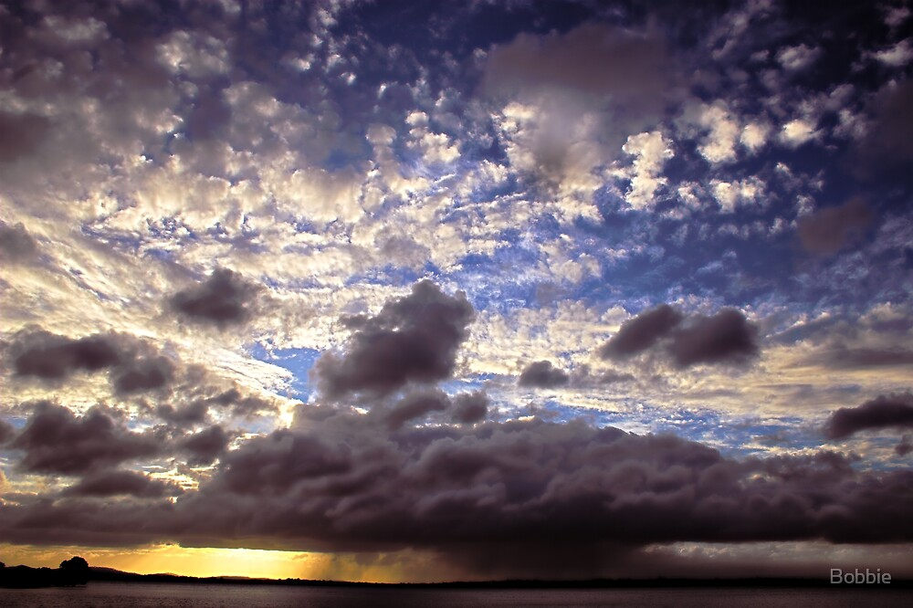 Sunset Storm by Bobbie