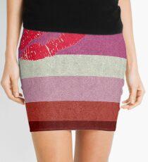 Lipstick Lesbian Flag Mini Skirt