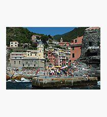 Cinque Terre Photo 1 Photographic Print
