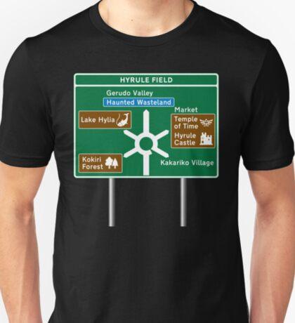 NDVH Zelda Road Sign T-Shirt