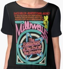 Milliways - the Restaurant at the End of the Universe Women's Chiffon Top
