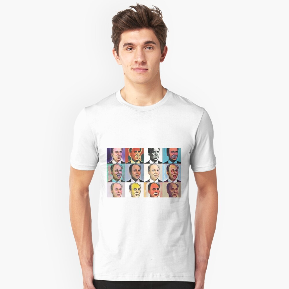 John Daker - Multicolour FanPop Slim Fit T-Shirt