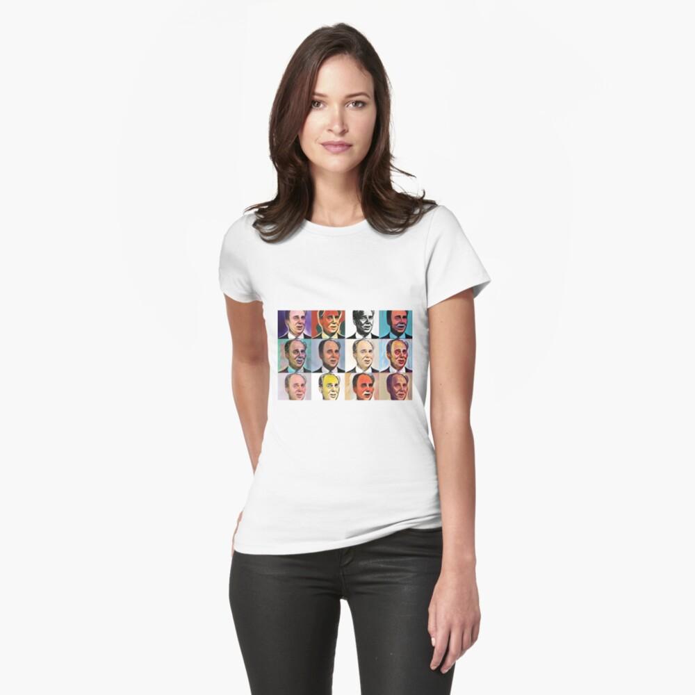 John Daker - Multicolour FanPop Fitted T-Shirt
