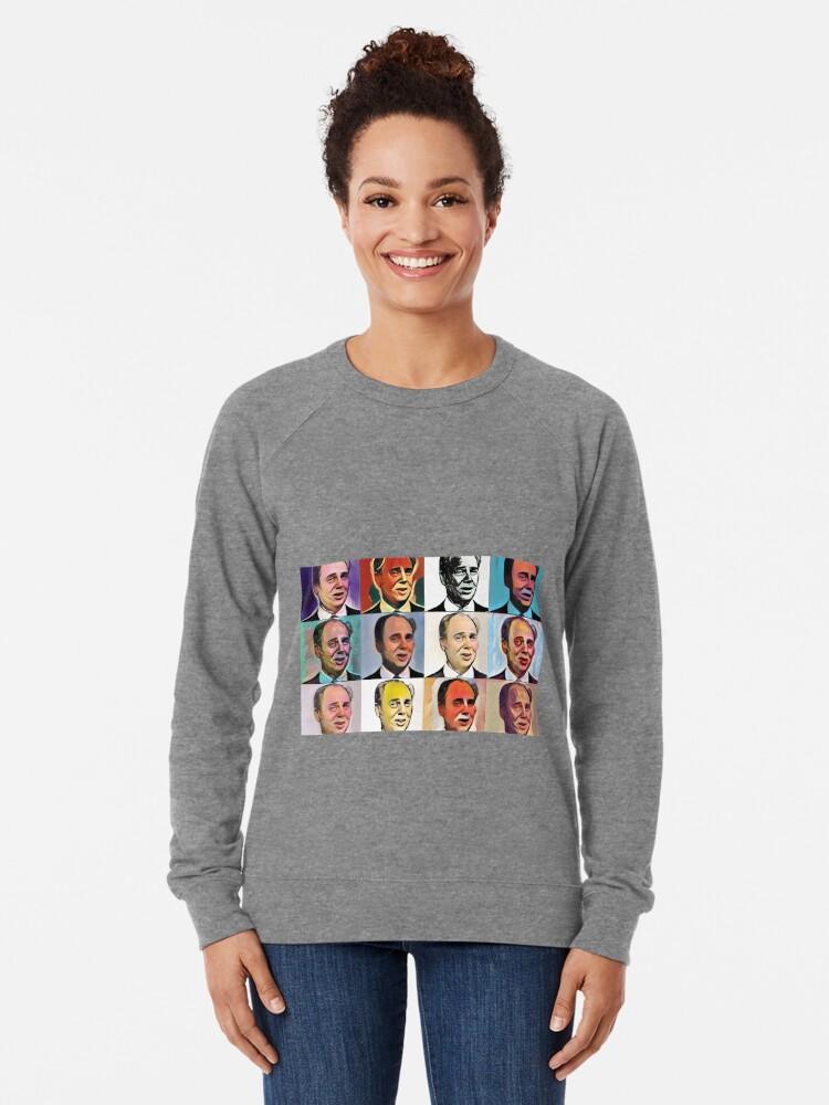 Alternate view of John Daker - Multicolour FanPop Lightweight Sweatshirt