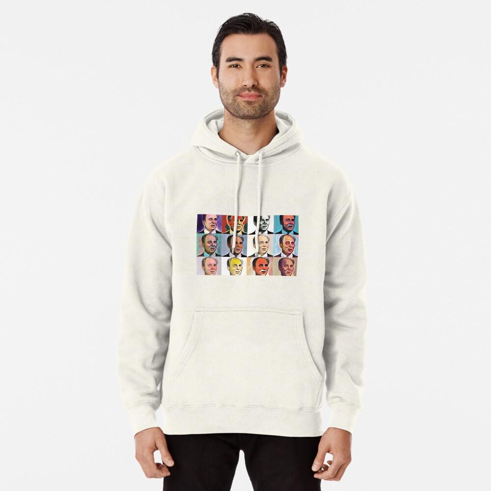 John Daker - Multicolour FanPop Pullover Hoodie