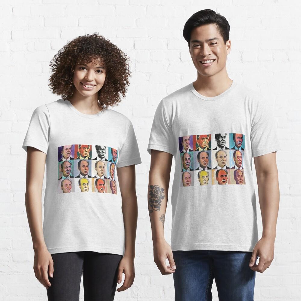John Daker - Multicolour FanPop Essential T-Shirt
