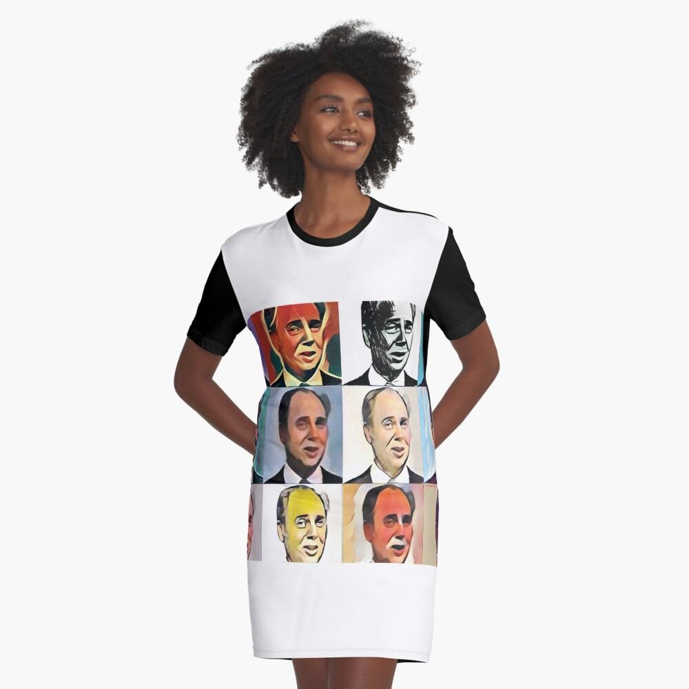 John Daker - Multicolour FanPop Graphic T-Shirt Dress
