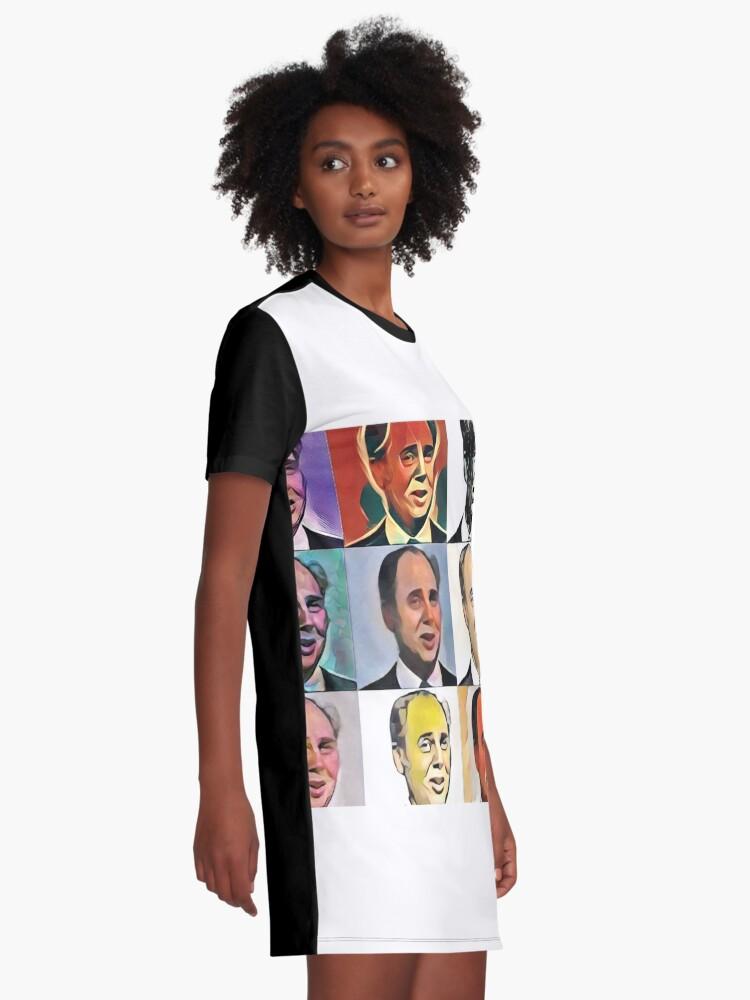 Alternate view of John Daker - Multicolour FanPop Graphic T-Shirt Dress