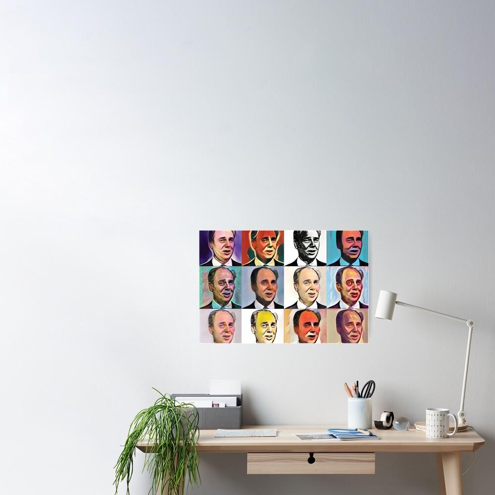 John Daker - Multicolour FanPop Poster