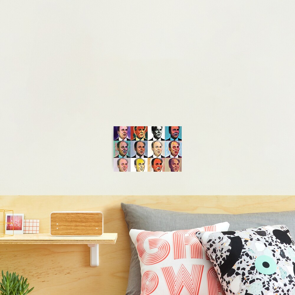 John Daker - Multicolour FanPop Photographic Print