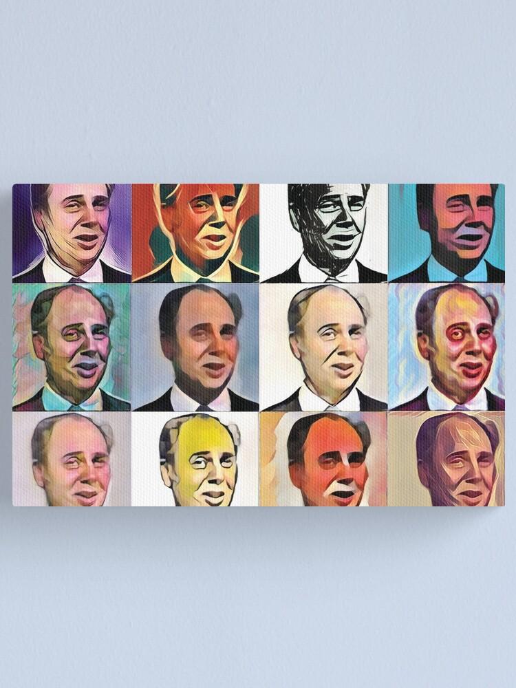 Alternate view of John Daker - Multicolour FanPop Canvas Print