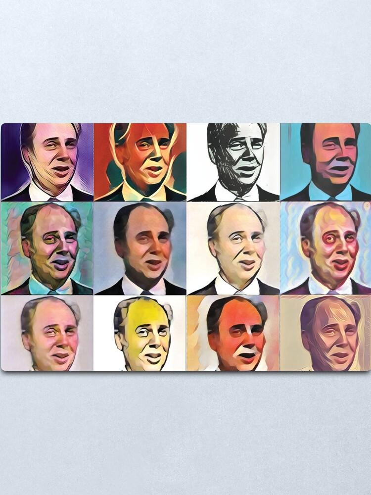 Alternate view of John Daker - Multicolour FanPop Metal Print
