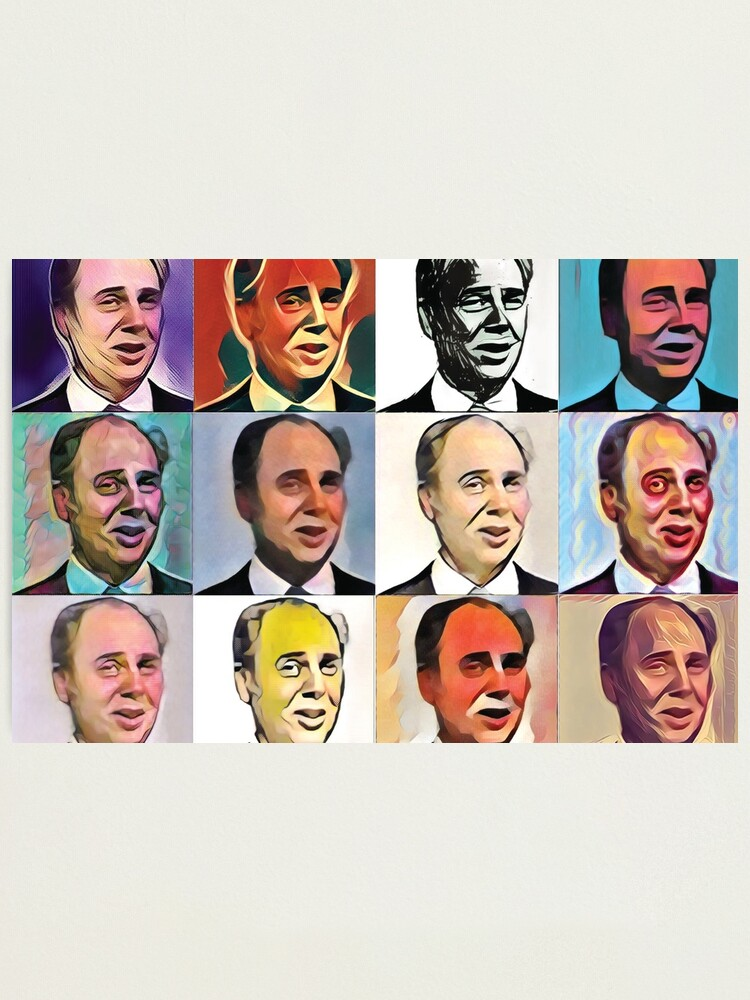 Alternate view of John Daker - Multicolour FanPop Photographic Print