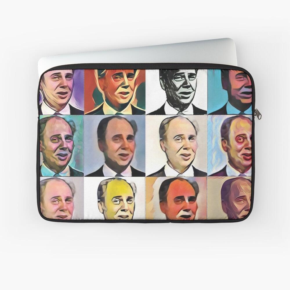 John Daker - Multicolour FanPop Laptop Sleeve